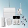 Draadloos voorgeprogrammeerd alarmsysteem van hoge kwaliteit, met (design) bedienpaneel, 3 sensoren, sirene en afstandsbediening. Goedgekeurd door het NCP (klasse 2).
